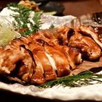 和食と個室 みや本 - 若鶏の朴葉焼き
