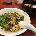 100334787 - 麻辣汁なし坦々麺と汁あり坦々麺