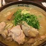 100335089 - 炙り味噌ラー(鶏叉焼増し)