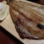 魚と和牛の個室居酒屋 魚縁 - ホッケ。おいしいねー。