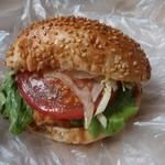 パンタンタン  - 料理写真:コロッケパン