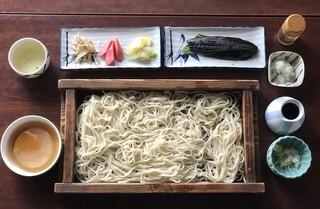 わらぐちそば - 大板そば+にしんの甘露煮 ¥1300