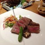 桂 - 松阪牛サーロイン網焼き