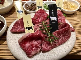 熟成和牛焼肉エイジング・ビーフ 吉祥寺店 - 6種盛りランチ