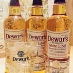 煉瓦屋 - ハイボールのウィスキーはデラウェアーのスコッチウイスキーを使っています。