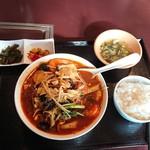 100344412 - マーラータン(850円)は、激辛、激痺れのスープを楽しめる♪