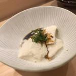鮨 乃すけ  - オボロ豆腐