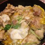 五鐵 夢境庵 - トロッと半熟で濃厚な味の奥久慈軍鶏 有精卵。