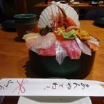 Yamasansushi - 海鮮丼3000円