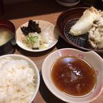 100347150 - ライス・味噌汁・天つゆ
