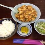 中華料理天心飯店 - 料理写真:天心飯店     Bランチの麻婆豆腐