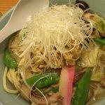 銀座 吉宗 - 日替わり定食(980円)のちゃんぽん麺