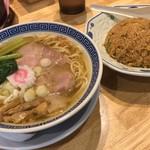 サバ6製麺所 - 【再訪】サバ塩+半やきめし