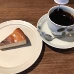 ムトウ コーヒー ロースタリー - ももぞのブレンド、ケーキセット 900円