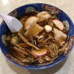 和風中華そば 丸万 - ワンタン麺