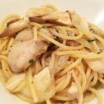 Arumandorino - 牡蠣とエリンギのスパゲティ