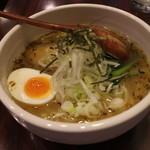 炎麺 - 東京塩ラーメン(670円、斜め上から)