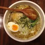 炎麺 - 東京塩ラーメン(670円、真上から)
