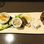 和食や 円 - 料理写真:酒肴盛り合わせ
