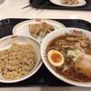 餃子の王将 - 料理写真:醤油ラーメンセット850円+税