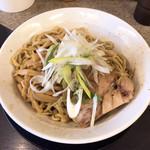野菜みそラーメン 鬼首 - 煮干しのアブラそば 追い飯付き ¥700