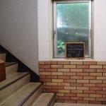 テオドーラ - 1Fの階段口