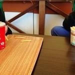 エレファントカフェ - 料理写真:ドリンク&フライドポテト