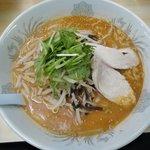 暖々 - 料理写真:辛みそ鶏白湯らーめん