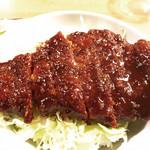 馳走亭 - 料理写真:名古屋名物味噌カツ丼