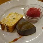 イタリア料理 ボンパスト - (2018/11月)「シェフのおすすめランチ」のデザート三種