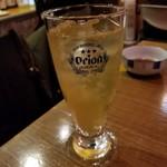 沖縄美食BAR うみんちゅぬ やまんちゅぬ - さんぴんハイ