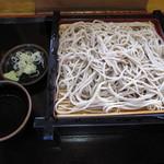めいじん亭 - 「もりそば ¥560」