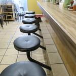 ラー麺 陽はまた昇る - 店内の様子