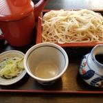 八松庵 - 料理写真:もりそば(税込520円)