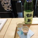 日本酒とおつまみ chuin - 鍋島 三十六萬石 特別純米
