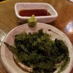 沖縄美食BAR うみんちゅぬ やまんちゅぬ - 海ぶどう 700円