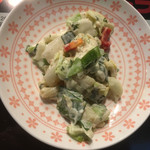 Cyustal JyoJyo - マヨで和えてるサラダ