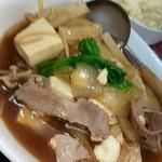 やすらぎ - 肉豆腐
