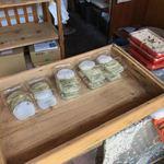 四季の餅 あめこ - 人気のあべ川餅以外にも大福や赤飯などがありました。