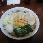 100379264 - 中華そば(¥650)+肉盛り(¥300)+味玉(¥100)