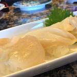 がってん寿司 - 貝づくしアップ