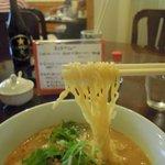 10038960 - 辛担々麺の麺(細麺です)