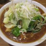 うま煮ラーメン 醤 - 野菜たっぷりうま煮醤油ラーメン!