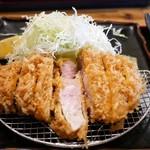 のもと家 - 料理写真:■特選ロースかつ定食 160g 2100円