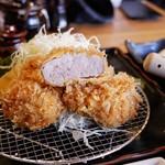 のもと家 - ■特選ヒレかつ定食 2500円