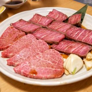 炭焼 金竜山 - 料理写真:☆シャトーブリアン 時価とヒレ肉