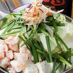鶏焼 やみつき - 黒毛和牛のコプチャンと出汁の醤油を九州から取りせ自家製の鶏スープで作る絶品もつ鍋!!