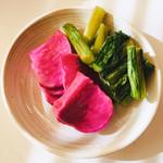 やぶはら高原山の家 - おかわり自由  赤かぶ&野沢菜