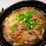 三国そば - お勧め肉うどん¥430