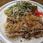 げんき - 料理写真:たこ焼き、焼きそばセット 550円